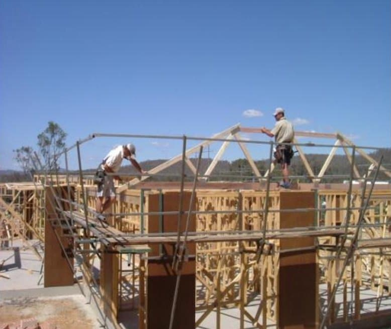 Two Plank Walkways Construction Safety